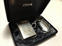 """ZIPPO Limited Edition DRAGON QUEST VII """"Warriors of Eden"""" Lighter & Key Chain"""