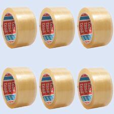 (0,03€/1m) 6x tesa 4024 PP-Verpackungsklebeband Packband 50mm 66m transparent