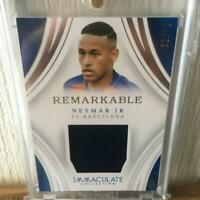 Neymar Jr. Panini Immaculate Collection Soccer Card FC Barcelona NM Patch 32/49