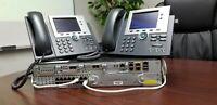 Cisco CCNA CCNP CCIE VOICE Collaboration add on Lab Kit  2911 POE 7945G IOS 15.7