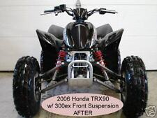 Honda TRX90 TRX 90 to 300EX Dual A-arms & Shocks Suspension Conversion Kit