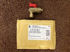 Worcester 87161424230 Isolating Valve, 1/4 Inch (Red Handle) (Genuine Product)