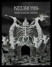 Neurosis Seatte,WA 1/5/13 Tragedy Black Breath Limited Edition Screenprint