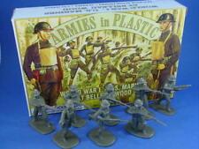 Toy Soldiers WWI US Marines Belleau Wood Armies in Plastic 54mm Figures 1/32