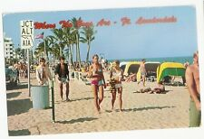 1979 WHERE THE BOYS ARE Fort Lauderdale Florida FL Postcard Bathing Beauties