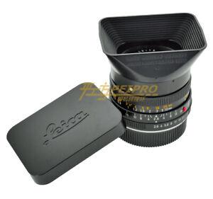 For Leica R50/2 R28 /2.8 E48 port lens cap hood metal square cover