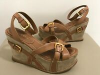 Women's Prada Wedge Platform Sandals . Sz. Prada 36. Orig . $890