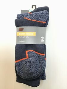 M&S MARKS AND SPENCER Men's WORK BOOT HEAVY DUTY SOCKS 2 Pairs