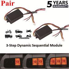 2x LED Flash Strobe Controller Box Flasher Module Brake Tail Stop Light Lamp UK