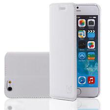 Leder Handy Tasche Flip Cover Samsung Galaxy S5 SV G900f Schutz hülle Case Etui