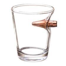 .308 REAL BULLET HANDBLOWN SHOT GLASS