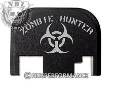 Rear Slide Plate For Glock 17 19 21 22 23 27 30 34 36 40 41 Zombie Hunter 6