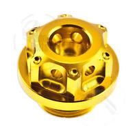 Gold GP Engine Oil Cap For Suzuki GSXR 600 750 Top CNC Aluminum Filler Lid