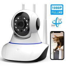 1080P WIFI IP Netzwerk Kamera Überwachungskamera IR Nachtsicht Babyphone Camera