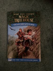 Magic Tree House Book Late Lunch With With llamas