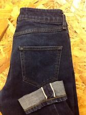 men's TOPMAN 28W 29L Selvedge / Selvage Stretch denim Jeans. Great Cond.