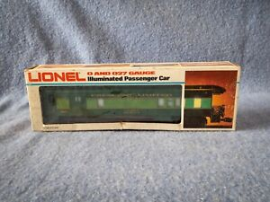 Lionel O and O27 Gauge Southern Cresent Illuminated Passenger Car   6-9531
