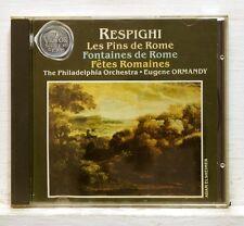 EUGENE ORMANDY - RESPIGHI pini di roma, fontane di roma RCA CD no IFPI NM