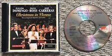 Christmas in Vienna - Domingo - Diana Ross - Carreras -Sony Digital CD SK 53 358