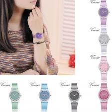 Vansvar Women Casual Quartz Plastic Band Strap Watches Analog Wrist Watch
