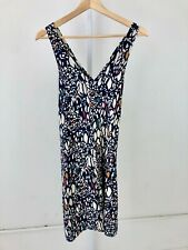 ANTHROPOLOGIE Edme & Esyllte Chroma Dress Sleeveless Twist Back Multicolor XS