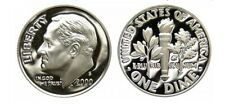 2000-S   90% SILVER   GEM CAMEO PROOF   ROOSEVELT DIME   STUNNING BEAUTY!
