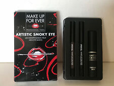 NEW! MAKE UP FOR EVER MASCARA & PENCIL ARTISTIC SMOKY EYE KIT SET $37 SALE