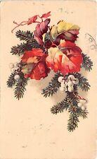 B39290 chirstmas weihnachten fir mistletoe