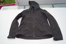 ICEPEAK Damen Mädchen Outdoor Softshell Fleece Jacke m Kapuze Gr.176 schwarz TOP
