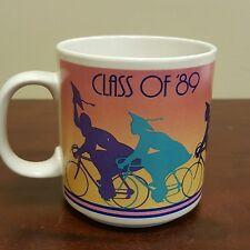 RUSS Graduation Class of 89 Coffee Mug High School College Bike Cap & Gown B24