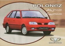 Polonez Atu PLUS, Caro PLUS car_made in Daewoo-FSO Poland_2001 Prospekt Brochure