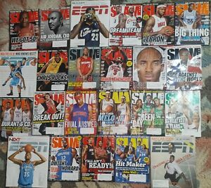 SLAM & ESPN MAGAZINE NBA LOT 2009-10 LeBRON KOBE MJ CP3 WADE AI MELO DURANT