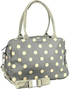 Cath Kidston Samson Bag Button Spot Grey Colour