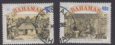 BAHAMAS SG828/9 1988 ABOLITION OF SLAVERY FINE USED
