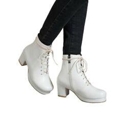 44/48 Women's Pumps Fashion Casual Ankle Chelsea Boots Office Work Shoes Pumps D