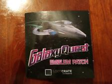 Galaxy Quest Emblem Patch - Loot Crate Exclusive. Free shipping