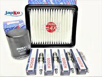 fits: SUZUKI JIMNY 1.3 2001-ON M13A **OIL, AIR FILTER & SPARK PLUG SERVICE KIT**