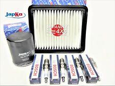 fits: SUZUKI JIMNY 1.3 M13A 2001-ON  OIL, AIR FILTER & SPARK PLUG SERVICE KIT