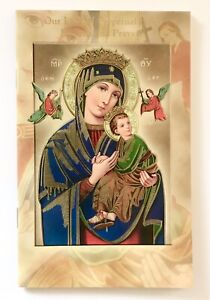 OUR LADY OF PERPETUAL HELP NOVENA & PRAYERS Booklet - 24 Page Full Colour - New