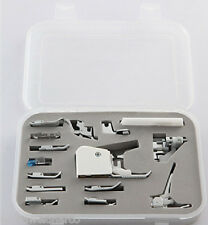 15 Piece Sewing Machine Presser Feet Set Kit incl Walking Foot Singer Simplicity