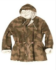 Armed forces WX WW German Army Winter Reversible jacket Swamp camo snow L