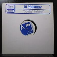"DJ Premacy - Feelin' Better 12"" Mint- BLW018 Netherlands 2003 Vinyl Record"