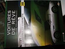 µµ Altaya Voitures de Reve de collection n°38 Chevrolet Corvette
