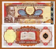 Haiti, 20 Gourdes, 2001, P-271A, Commemorative, W-prefix UNC