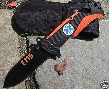 Albainox Messer Rescue Knife EMS Gurtschneider Glasbrecher Rettungsmesser 19745