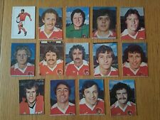 AVA Americana Football Special '79 - Set of 14 Bristol City Stickers - 1979