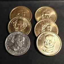 Un Dolar Presidentes de USA años 2008 Y 2009, Sacawagea 2000, Susan B. Anthony