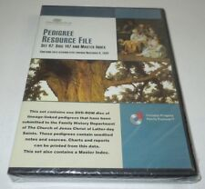 FamilySearch Pedigree Resource File Set 47 Disc 147 Master Index NEW Nov 8 2009