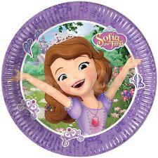 Princesse Sofia Decoration Gateau Disque Azyme Comestible Anniversaire 20cm