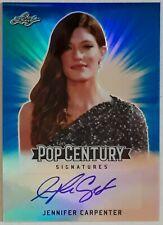 Jennifer Carpenter 2018 Leaf Pop Century Autograph#38/50+2015 Dexter Costume Car